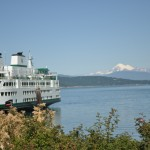 Ferry and Mt. Baker